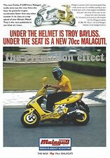 Vintage Magazine Single Page Advert from 1998 - Malaguti Firefox F15RR Scooter