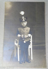 original Foto Kind in Uniform  Braunschweig  Husar Husaren Rgt. 17