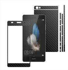 3D Carbon Skin,Full Body Protector for Case,Vinyl Wrap For Huawei Ascend P8 Lite