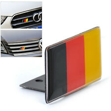 Car Front Grille German Flag Grille Emblem Badge FIT AUDI A1 A3 A4 A5 A6 A7