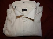 JOOP! Smart Elegante Designer Bianco Smoking Camicia Abito UK 16 EU 41