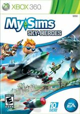 Xbox 360 Game My Sims Skyheroes Sky Heroes New
