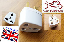 MULTI -PLUG USA AUSTRALIA EUROPE JAPAN 3-PIN PLUG TO UK TRAVEL ELECTRIC ADAPTOR