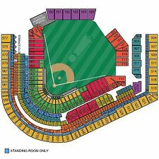 2) Washington Nationals @ Cleveland Indians, 7:10pm TUE 7/26 Infield Box Sec 158