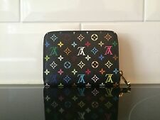 LOUIS VUITTON Monogram Multicolour Zippy Coin Purse Black Grenade M93740