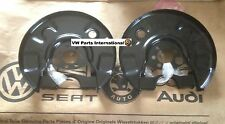 Genuine VW Golf MK2 GTI G60 Rear Brake Disc Shields NS OS PAIR New OEM VW Parts
