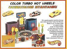 X7981 Color Turbo Hot Wheels - Mattel - Pubblicità 1994 - Vintage advertising