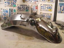1984 1985 84 85 YAMAHA VIRAGO XV700 XV1000 XV 700 1000 chrome rear fender
