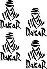 4 X Paris Dakar Rally  Stickers,Graphics,Decals Colour Choice