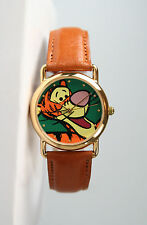 Disney Unisex Gold-Tone Tigger (Winnie the Pooh) Watch by Pedre. New and Unworn