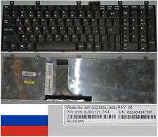 Clavier Qwerty Russe MSI MS1683 CX600 LG E500 MP-08C23F0-359 S1N-3URU121-C54