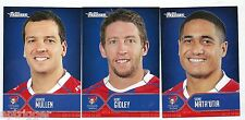 2015 NRL Traders Faces of the Game KNIGHTS 3 card set