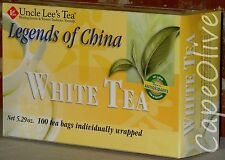 Legends of China White Tea by Uncle Lee's Tea - 100 Tea Bags
