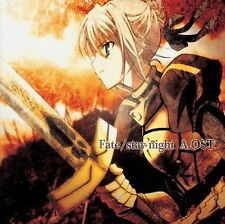 0692 Fate Stay Night A.OST ANIME ORIGINAL Music SOUNDTRACK CD Brand New Sealed
