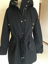 Women's Coat,Black,,M,( 42.,Fur Lining,Hooded,,Armani,NWT