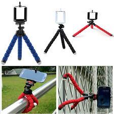 Protable Octopus Flexible Tripod Stand with Clip Holder for Gopro Smartphones