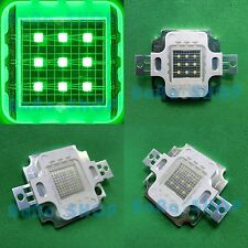 10W Green 520nm-525nm High Power Bright LED Lamp Light 600Lm-700Lm for DIY COB