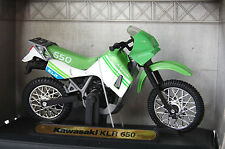 KAWASAKI  KLR650 1/18th  DIECAST  MODEL  MOTORCYCLE