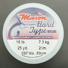 MASON Hard - Mono 16 lb 7,3 KG 0,50 mm Superspule 23 Meter