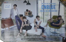"""CNBLUE 2GETHER 2015 Taiwan Promo Poster (22"""" X 15"""")"""