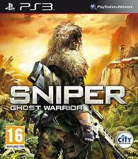 Disc Only Sniper: Ghost Warrior (PS3) #B45