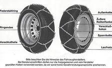 "Schneeketten, RUD ringstar Sonderstahl Federstahlring Y-Spurkreuz 05510 -12"" 13"""