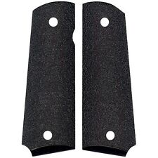1911 Grips - Genuine Remington Mfg - Black Stippled Wood - Free Shipping