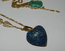 Collana UNOAERRE Argento 925 stile Liberty con ciondolo cuore calcedonio OMA19