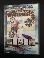 DVD SPORT MOTO : URBAN STREET BIKE WARRIORS - EXTREME MIAMI RIDERS - RACING