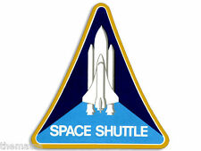 "4"" NASA SPACE SHUTTLE LOGO  HELMET CAR BUMPER EMBLEM DECAL STICKER MADE IN USA"