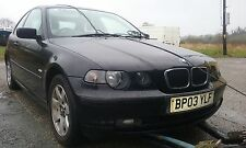 BMW 316ti SE COMPACT E46 FACELIFT 2003 1.8 N42 BREAKING ALL PARTS N/S FRONT O/S