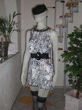 Damen Kleid Tunika von Heine in Schwarz & Weiss Gr. 36