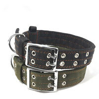 New Pet Dog Nylon Collar Thickening Collars for Large Dogs L/XL
