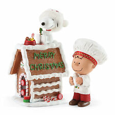 Dept 56 Possible Dreams Peanuts Snoopys Gingerbread House 4052330 Charlie Brown