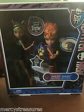 Monster High Clawdeen Wolf & Howleen Wolf Set Brand New in box