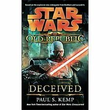 Star Wars: The Old Republic - Deceived, Kemp, Paul S., Good Condition, Book