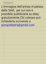 Giosetta Fioroni - notturno - acrilico su carta su tela 50x70 2007 certificato