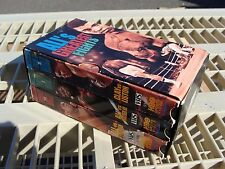 Set of 3 Muhammad Ali's Greatest Fights VHS HBO Sports Video Tapes