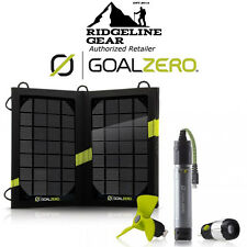 GOAL ZERO Switch 10 USB Multi-Tool w/Nomad 7 Solar Kit Light/Fan/Power/Charger