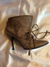 alexander mcqueen Brown Ankle Boots Size 38