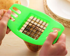 Potato Slicers kitchen tool Cut into Strip Chipper Potato Cut Cooking green