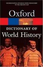 NEW - A Dictionary of World History (Oxford Quick Reference)