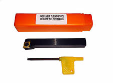 RDGTOOLS 12MM INDEXABLE LATHE TURNING TOOL RIGHT HAND / CCMT 09 ENGINEERING TOOL