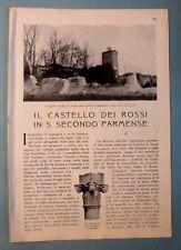 F. BERNINI - CASTELLO DEI ROSSI DI S. SECONDO PARMENSE