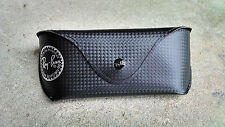 New Ray Ban Black Carbon Fiber Tech Sunglasses Leather Case Special Edition