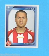 PANINI-CHAMPIONS 2008/2009-Fig.35- ANDERS DUE - AALBORG BK -NEW BLACK