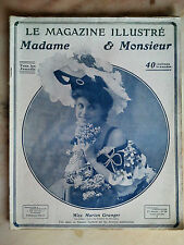 le magasine illustré madame monsieur n°82 de 1906 mode