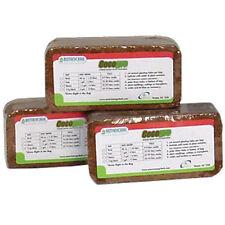 Cocogro Bricks 5 Pack - Coco Coconut Fiber Coir Worm Bedding Botanicare Media pk