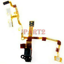 Headphone Jack Earphone Jack Power Volume Switch Flex Cable for iPhone 3GS Black