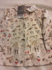 Next Bnwt Baby Girls 6-9 Woodland Blouse